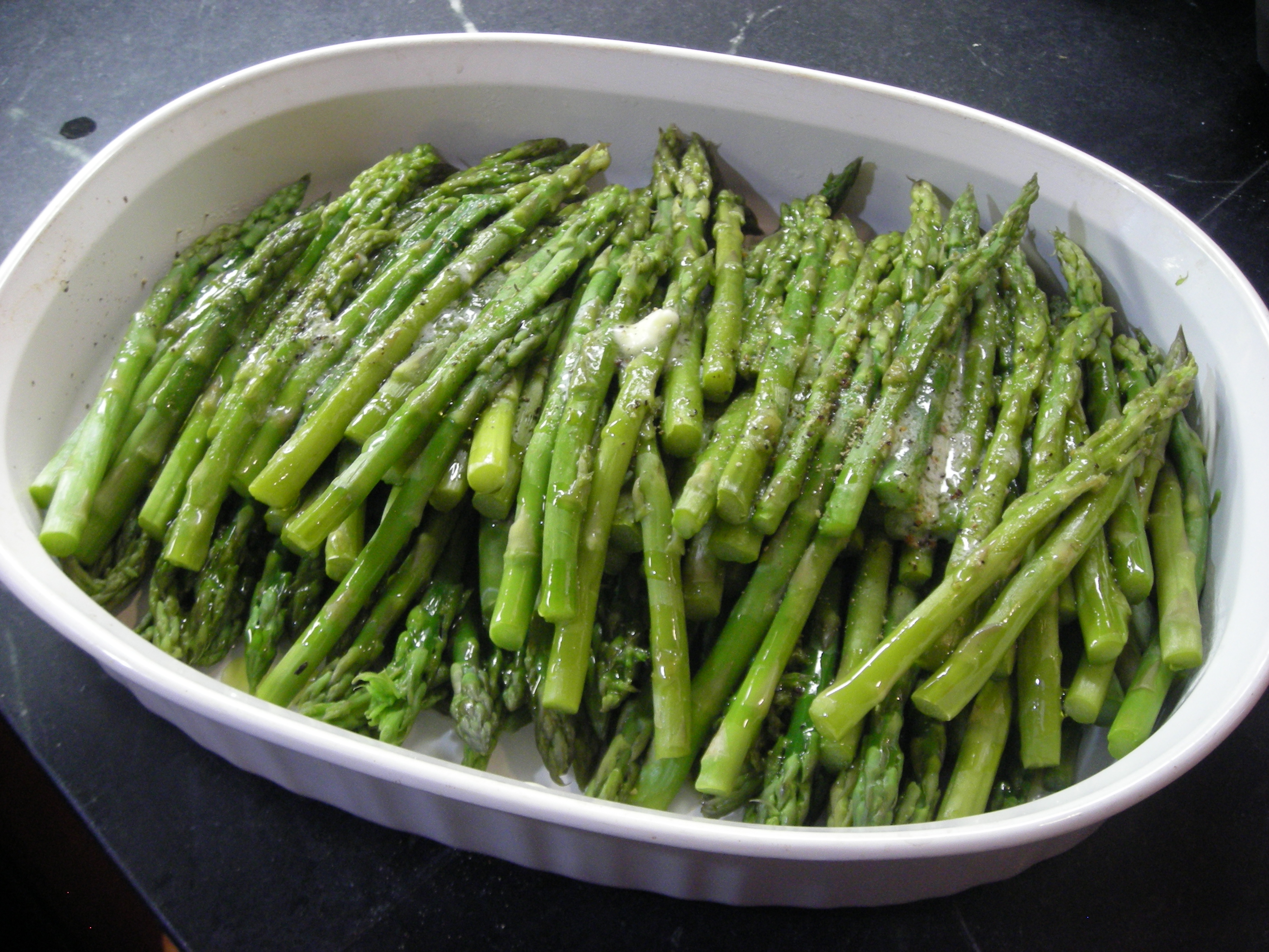 Asparagus – The Virginia House-Wife, pg 121 / Mary Randolph