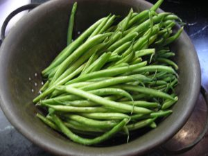 French beans washed