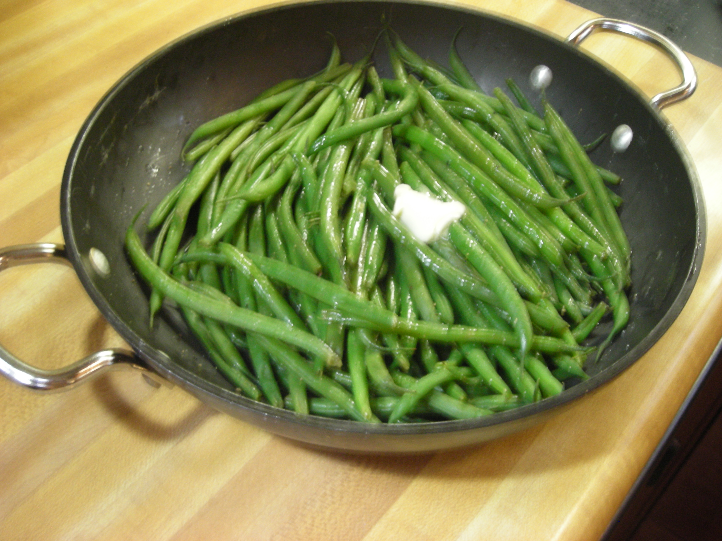 French Beans – The Virginia House-Wife. pg. 126 / Mary Randolph