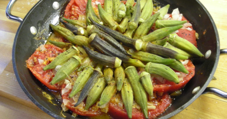 Okra and Tomatoes – The Virginia House-Wife | pg. 95. | Mary Randolph