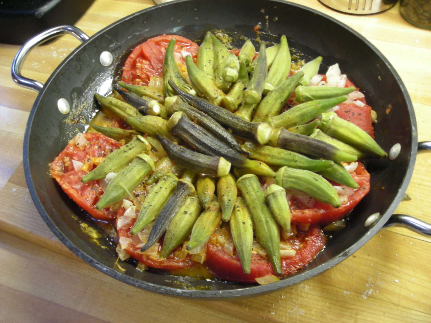 Okra and Tomatoes – The Virginia House-Wife | pg. 95. | Mary Randolph