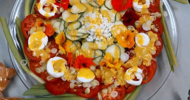 To Dress Salad – The Virginia House-Wife /  pg. 115 / Mary Randolph